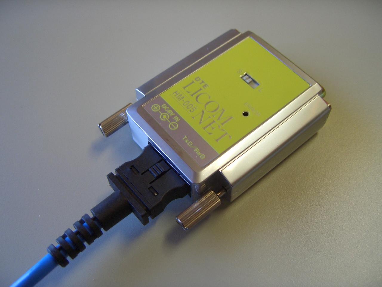 光モデム 光ケーブル HM-005
